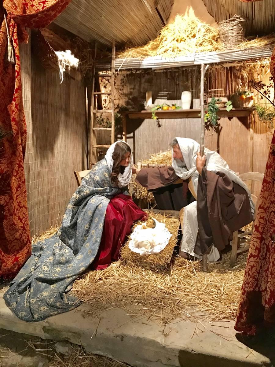 Giornate di Natale al presepe vivente a Palazzo Quidera