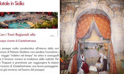 Natale in Sicilia, Il Presepe Vivente di Palazzo Quidera è stato inserito nel programma ufficiale di Trenitalia