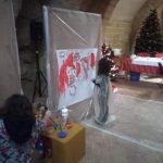 """""""Dipingiamo il Natale"""" a cura dell'associazione culturale Virgo A 5"""