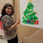 """""""Dipingiamo il Natale"""" a cura dell'associazione culturale Virgo A 1"""