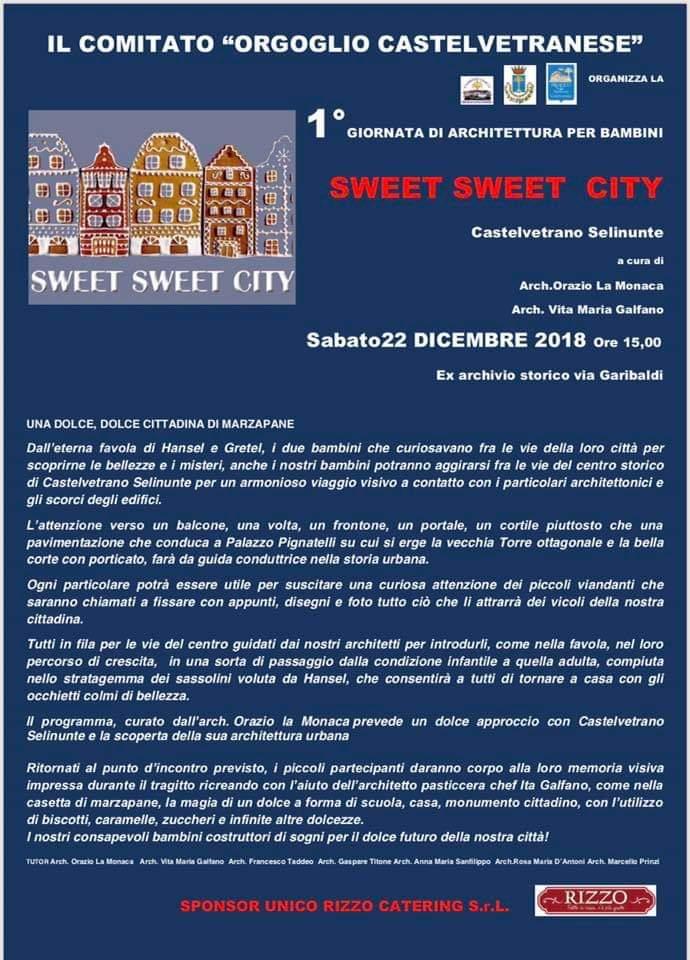 Musical, Sweet sweet city e cuntui di natale si chiude in bellezza il programma di Orgoglio Castelvetranese 1