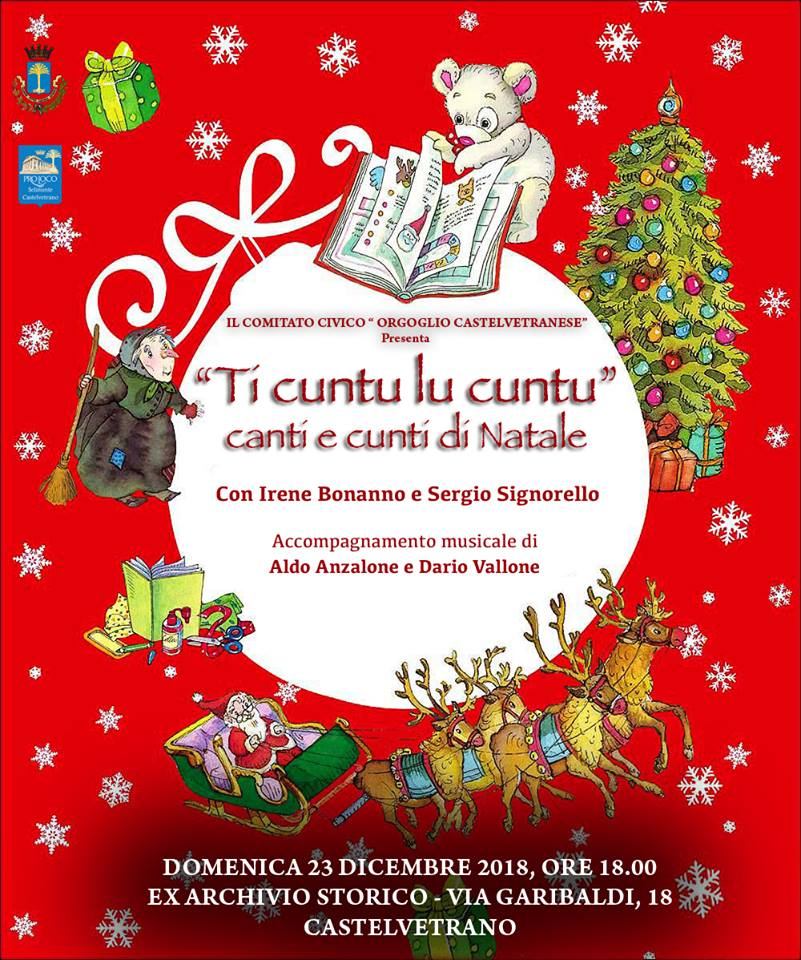 Musical, Sweet sweet city e cuntui di natale si chiude in bellezza il programma di Orgoglio Castelvetranese