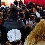 Gli alunni della Ruggero Settimo incontrano lo scrittore Emanuele Verdura per ricordare la Shoah 4