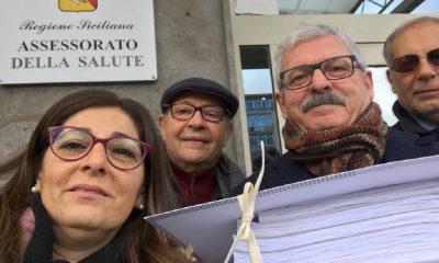 """Consegnata la petizione per cambiare la denominazione in """"Ospedale Valle del Belice"""" 1"""