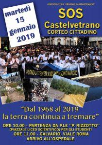 Castelvetrano Comitato Orgoglio Castelvetranese Corteo Cittadino