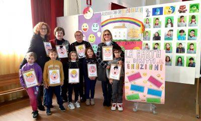 """Gli alunni del II CircoloRuggero Settimo celebrano il """"Safer Internet Day"""" con la Polizia Postale 2"""