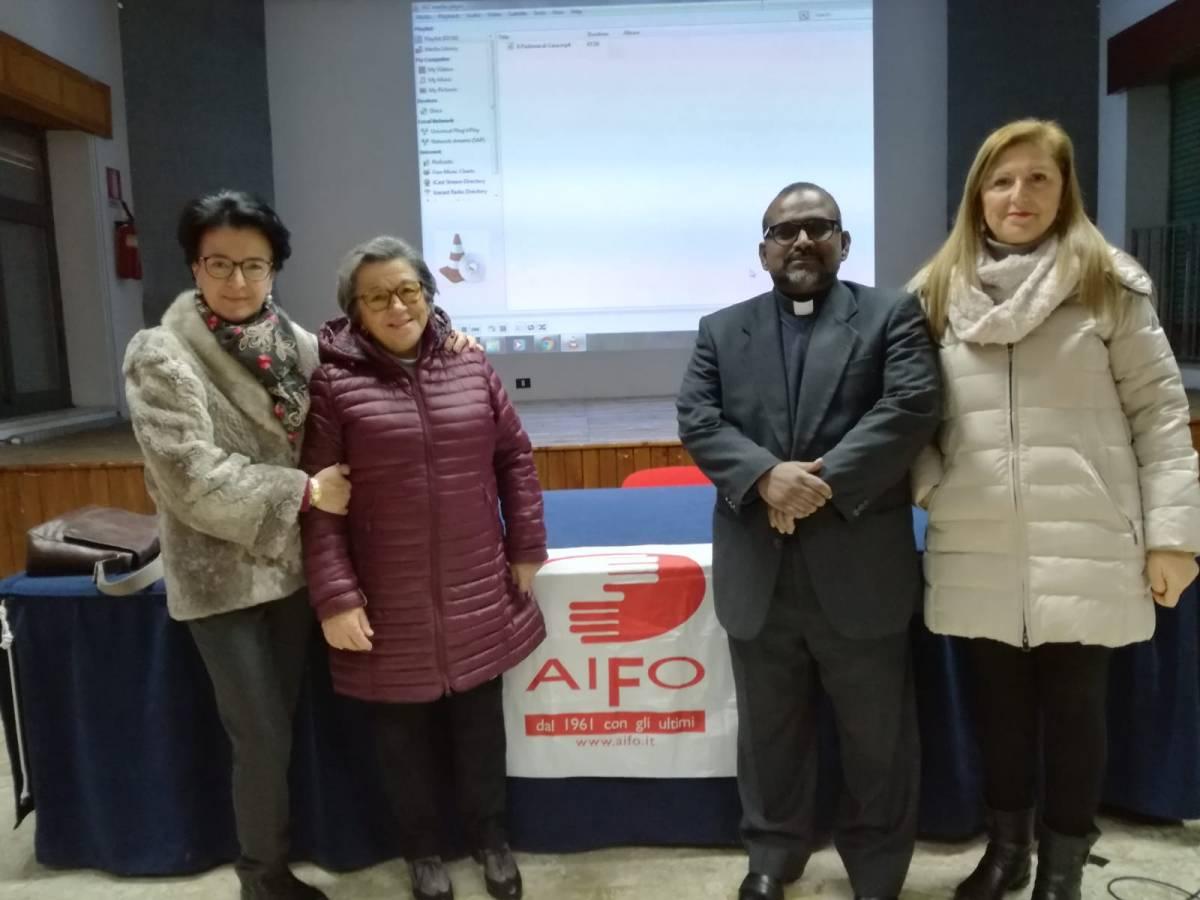 """Gli alunni dell'I.C. """"L. Radice-Pappalardo"""" incontrano i volontari dell'associazione AIFO 1"""