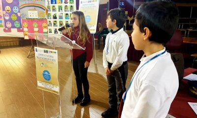 """Gli alunni del II CircoloRuggero Settimo celebrano il """"Safer Internet Day"""" con la Polizia Postale 6"""