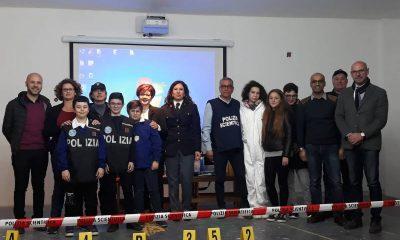 """Castelvetrano, l'I.C. """"Capuana-Pardo"""" selezionato per un incontro con la Polizia di Stato"""