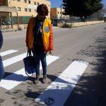 Il Lions di Castelvetrano realizza le strisce pedonali in collaborazione con l'Amministrazione Comunale 1