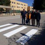 Il Lions di Castelvetrano realizza le strisce pedonali in collaborazione con l'Amministrazione Comunale 2