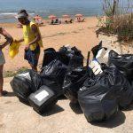 Legambiente Marinella di Selinunte Spiagge e fondali puliti 2019 Triscina 1
