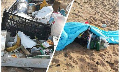 Degrado Rifiuti Spiaggia Triscina