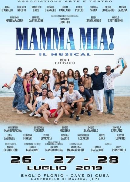 """IL MUSICAL """"MAMMA MIA"""" IN SCENA AL BAGLIO FLORIO DELLE CAVE DI CUSA IL 26, 27 E 28 LUGLIO — Campobello di Mazara"""