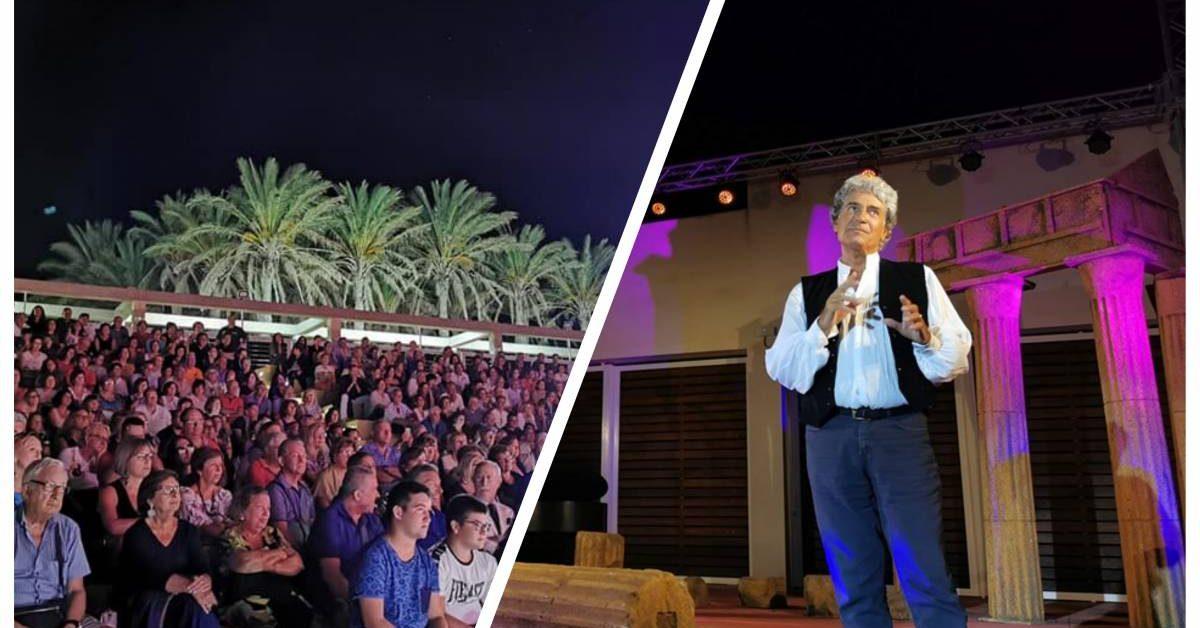 Triscina di Selinunte, Gianfranco Jannuzzo incanta il pubblico del Teatro Franco Franchi-Ciccio Ingrassia 1