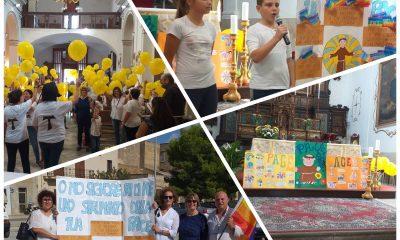 """Bambini della scuola """"Dante Alighieri"""" rendono omaggio a San Francesco"""