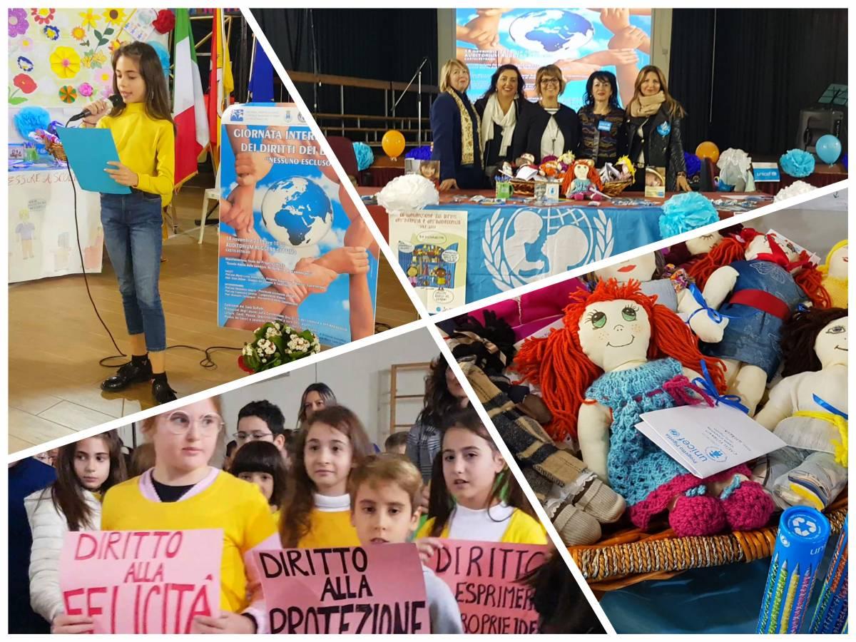 """L'UNICEF e il 2° Circolo Ruggero Settimo per la """"Giornata Internazionale dei Diritti dei Bambini. Nessuno Escluso"""""""