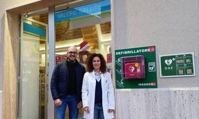 """""""Castelvetrano ci sta a cuore"""". La famiglia Radosta Chinzi dona un defibrillatore alla comunità"""
