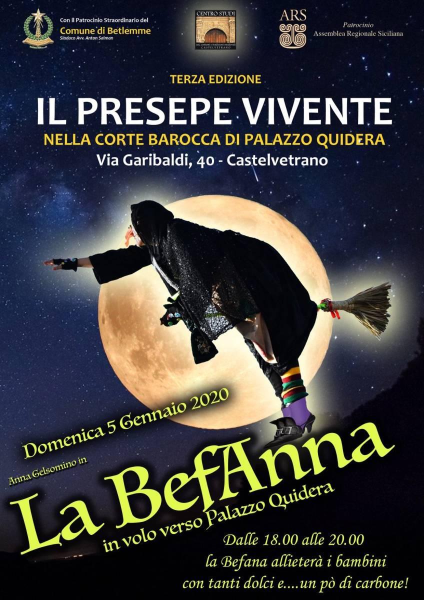 Castelvetrano, eventi dell'Epifania a Palazzo Quidera